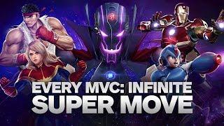 Every Marvel vs Capcom: Infinite Level 3 Super Move