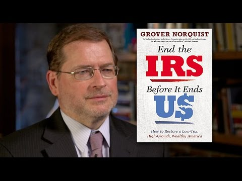 Grover Norquist: Follow Kansas, End the Income Tax - YouTube