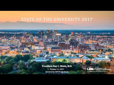 UAB State of the University 2017