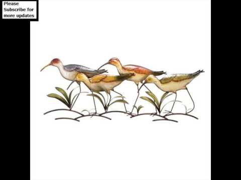 Metal Wall Decor Birds | Wall Sculpture Art