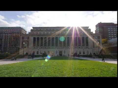 Columbia University Butler Library Timelapse