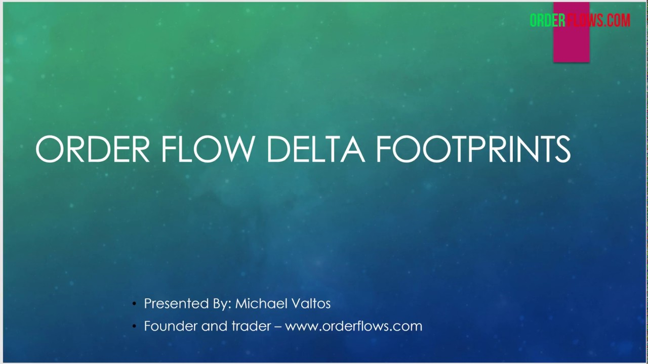 Order Flow Delta Footprints Analyze The Delta Footprints In The Bar