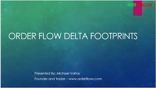 Download Video Order Flow Delta Footprints Analyze The Delta Footprints In The Bar MP3 3GP MP4