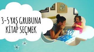 3 - 5 Yaş Grubuna Kitap Seçmek | Defne'nin Vlog'u | İki Anne Bir Mutfak