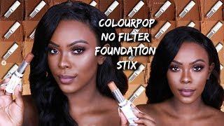 Colourpop No Filter Foundation Stix | Oily Skin Friendly ? 8 Hr Wear Test
