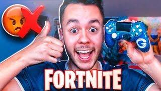Hoy no me enfado jugando a Fortnite :)