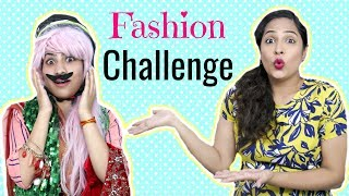 The FASHION Challenge | #Fun #Sketch #Anaysa #ShrutiArjunAnand