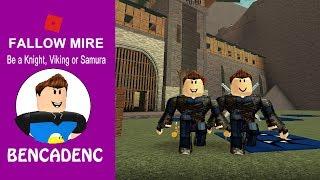 Fallow Mire / Be a Knight, Viking or Samurai / Roblox Adventure
