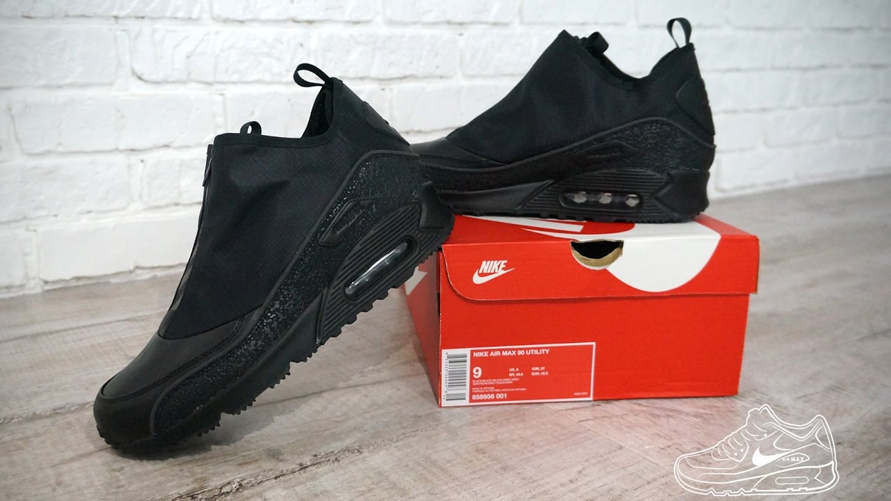 Max Youtube Utility Triple Air 90 Nike Black S48w5Uxq