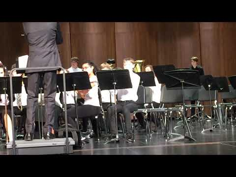 Maple View Middle School Advanced Band, March 28, 2019