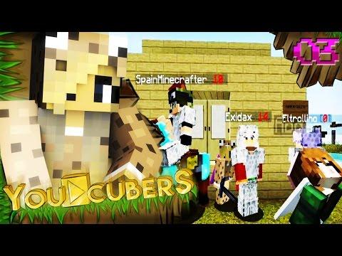 Salseo Youcubero - #YouCubersMinecraft - @Youcubers - Episodio #3