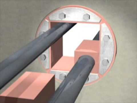 Cable penetration seals about will
