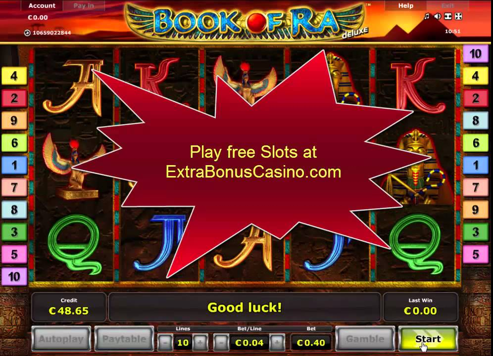 Book Of Ra Deluxe Video Slot