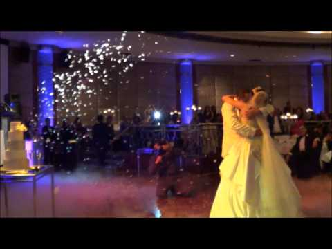 Magical First Dance w/ Bubbles, Dry Ice and Confetti Blowers