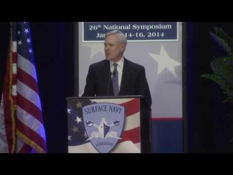 Secretary of the Navy speaks to Surface Navy Association