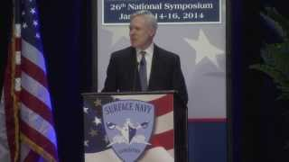 Secretary of the Navy speaks to Surface Navy Association