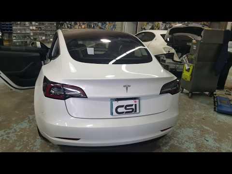 Tesla Model 3 Dash Cam. Blackvue DR900S-2CH