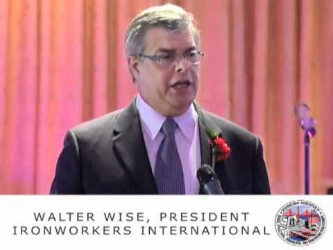 WALTER WISE IRONWORKERS LOCAL 361 DINNER