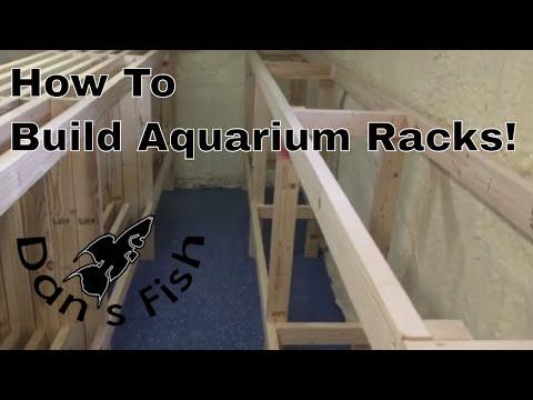 Building Aquarium Racks