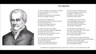Das Lügenlied (Ein altes Volkslied) - Christoph Holzhöfer