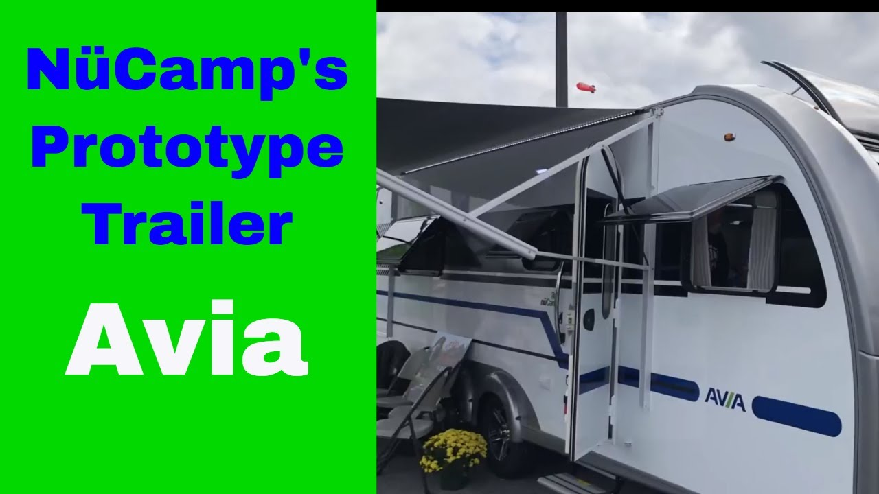Nucamp Rv Avia Prototype Trailer Debut At The Hershey Show