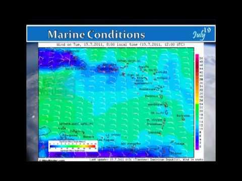 SSS Forecast - Tue. 19 Jul '11