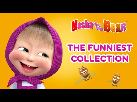 Masha and the Bear The Funniest Collection Funny cartoon collection for children
