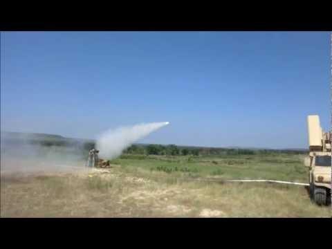 shooting a stinger missile