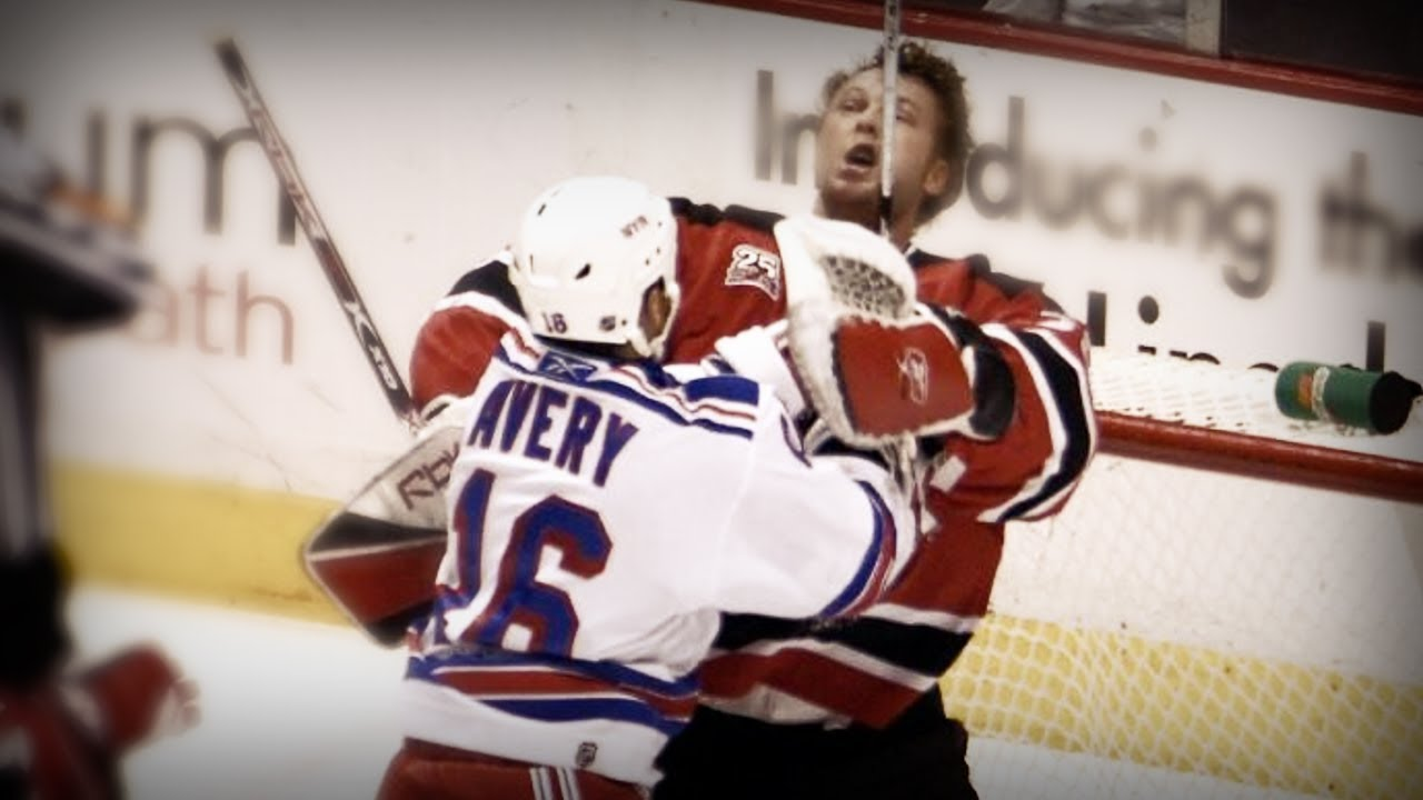 Sean Avery Vs Martin Brodeur Ft Slayer I Hate You Youtube