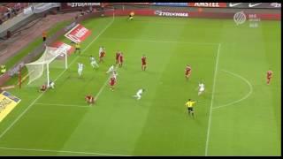 Konstantinos Stafylidis gólja Magyarország ellen   Görögország vs Magyarország 1 0