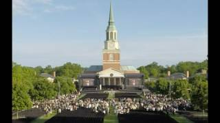 2016 Commencement Weekend Time-lapse