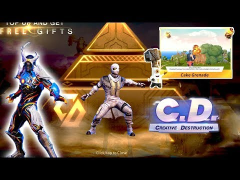 Update* | Mummy Suit | Streamer Effects | Cake Grenade on Creative Destruction