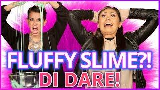 DIY FLUFFY SLIME?! Di Dare w/ Roxette Arisa & Lisa Cimorelli