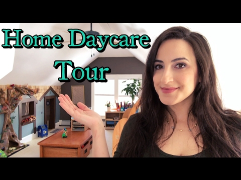 Home Daycare Center Tour #1 | Child Care  Montessori Inspired | How to Setup  Opening up a Daycare