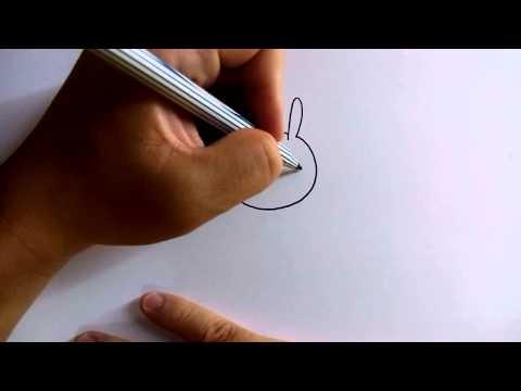 วาดการ์ตูนกันเถอะ สอนวาดการ์ตูน กระต่ายน้อย Stlye Q ง่ายๆ หัดวาดตามได้เลย