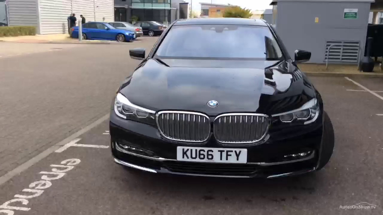 BMW 7 SERIES 750I EXCLUSIVE BLACK 2017