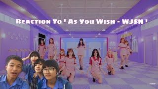 Reaction to WJSN(우주소녀) - As You Wish(이루리) By Blueberry!