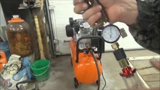 Производительность компрессора PATRIOT PTR 80-450.двухцилиндровый компрессор.