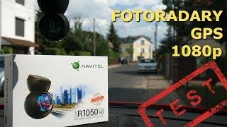 WIDEOREJESTRATOR z informacją o FOTORADARACH i GPS - NAVITEL R1050