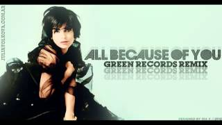 Julia Volkova - All Because Of You (Green Records Remix)