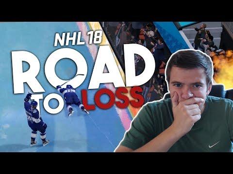 NHL 18 THREES: ROAD TO A LOSS