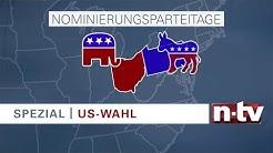 Der US-Wahlkampf bei n-tv: So funktionieren die Vorwahlen zum Präsidenten