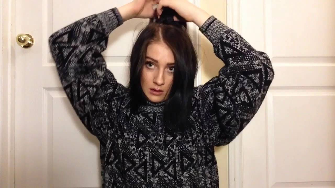 How to clip in hair extensions with short hair 3 hairstyles how to clip in hair extensions with short hair 3 hairstyles chloe arden youtube pmusecretfo Images