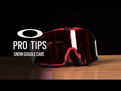 SNOW GOGGLE CARE   OAKLEY PRO TIPS