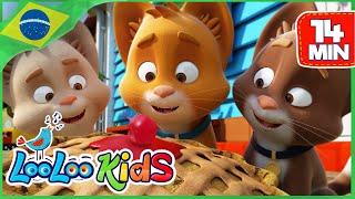Três Gatinhos (Three Little Kittens) - Canções Para Crianças