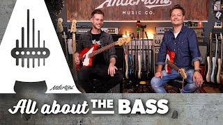 New 2018 Fender Player Series Basses with Lee and Pete