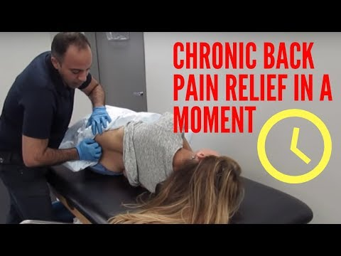 Chronic Back Pain From Multiple Accidents Relieved With ASTR!