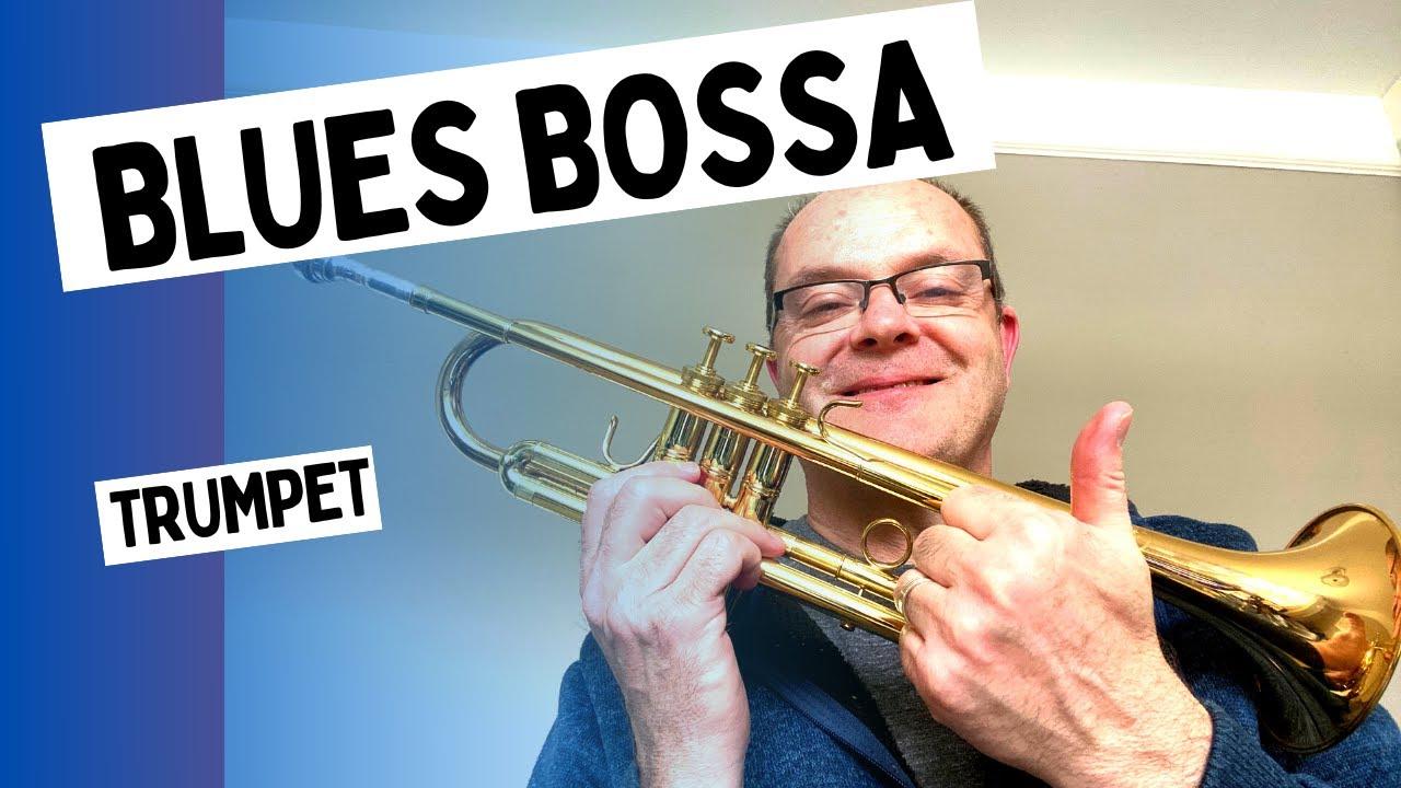 Blue Bossa jazz etude - jazz study - free pdf