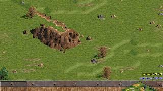 Yamtato vs Assyrian amater game   AoE 1