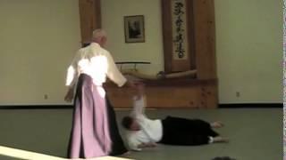 Cognard André Hanshi - Tachi waza - Aikido Kobayashi Seminar in the US
